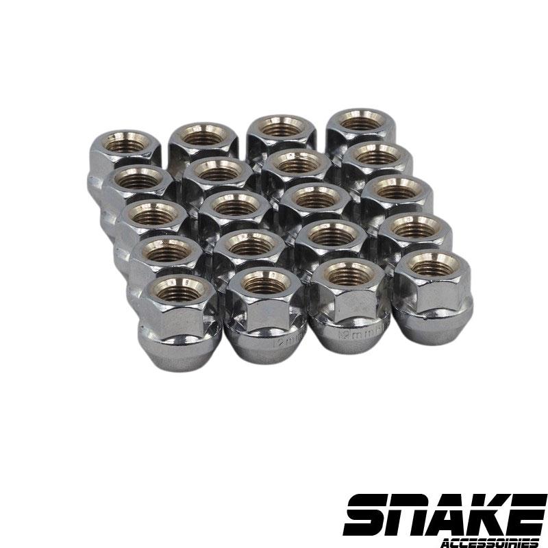 Écrous de roue (lug nuts) Hexagonal  • Cone seat  • 19  • 21  • 12  X 1.5 (MM)