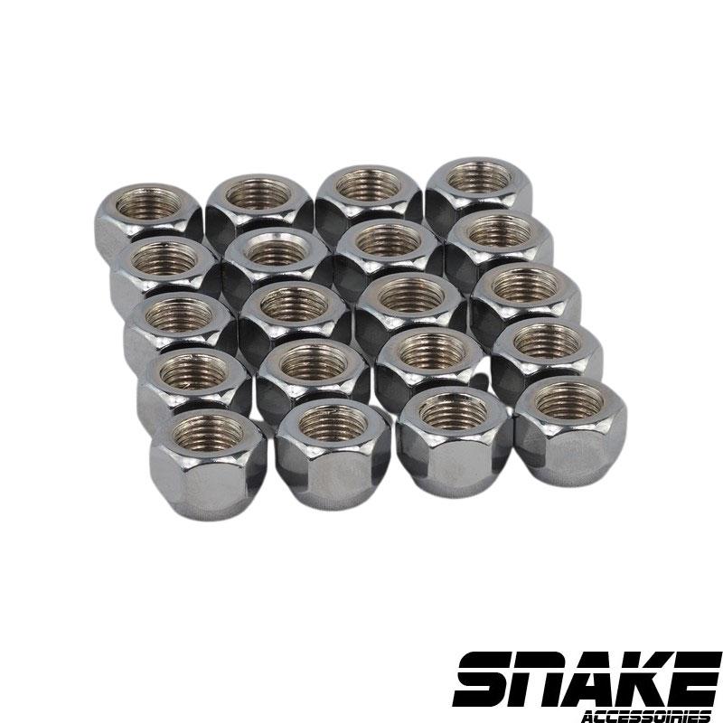 Écrous de roue (lug nuts) Hexagonal  • Cone seat  • 19  • 14  • 1/2  X 20 (MM)