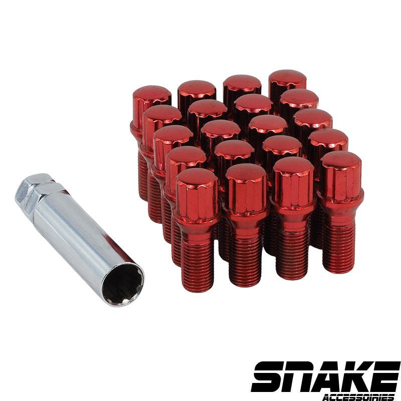Boulons de roue (lug bolts) 7  Spline  • Cone seat  • 19/21  • 28  • 14  X 1.5 (MM)