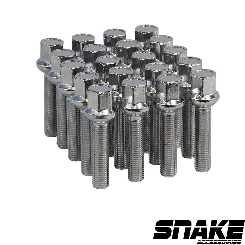 Boulons de roue (lug bolts) Hexagonal  • Ball seat  • 17  • 50  • 12  X 1.5 (MM)