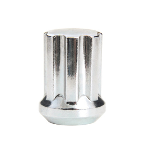 DUPLEX SPLINE DRIVE NUT (7 SPLINE) – CHROME