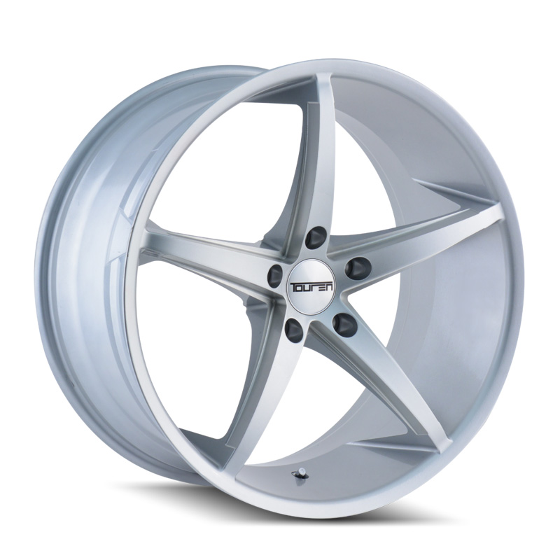 TR70 MILLED SPOKES SILVER