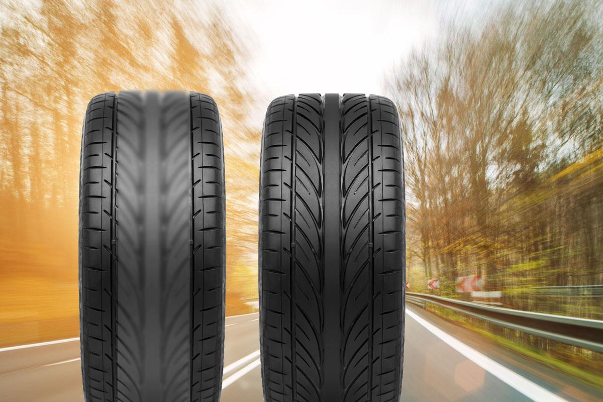 Pourquoi mes pneus sont usés au centre?